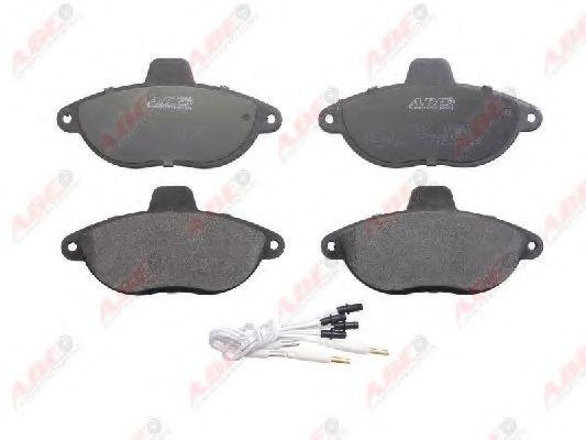 Тормозные колодки передние (18,5мм) Citoen Jumpy, Fiat Scudo, Peugeot Expert ABE C1F031ABE
