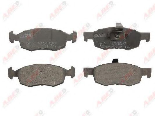 Тормозные колодки передние (17мм) Fiat Doblo ABE C1F049ABE