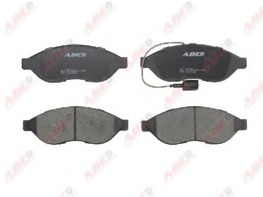 Тормозные колодки передние Peugeot Boxer,Citroen Jumper,Fiat Ducato  06- ABE C1F057ABE