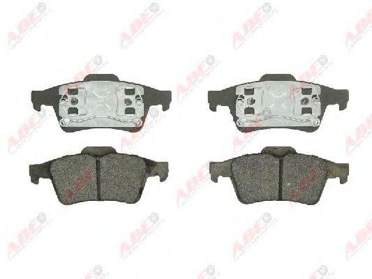 Тормозные колодки задние (16.6 mm) Ford,Mazda 3,Opel,Nissan (с поршневым зажимом ABE C21041ABE