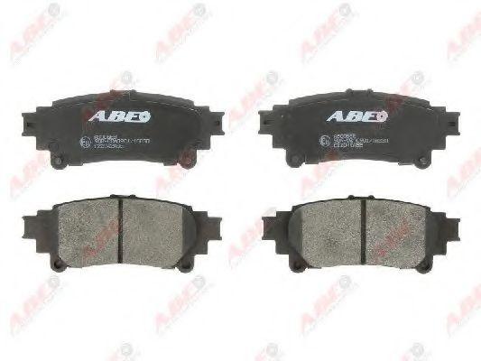 Тормозные колодки задние Lexus RX 3.5i 08- ABE C22042ABE