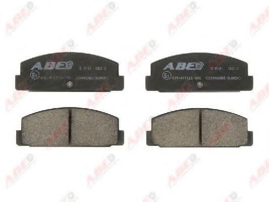 Тормозные колодки ABE C23002ABE