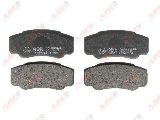 Тормозные колодки зад дисковые Citroen Jumper 02-06, Fiat Ducato 02-06, Peugeot Boxer 02-06 ABE C2C009ABE
