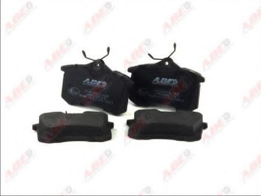 Комплект тормозных колодок ABE C2W001ABE