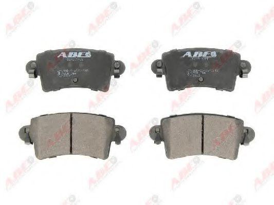 Тормозные колодки  ABE C2X011ABE