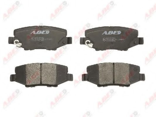 Тормозные колодки задние JEEP CHEROKEE 08- WRANGLER III 07- ABE C2Y013ABE