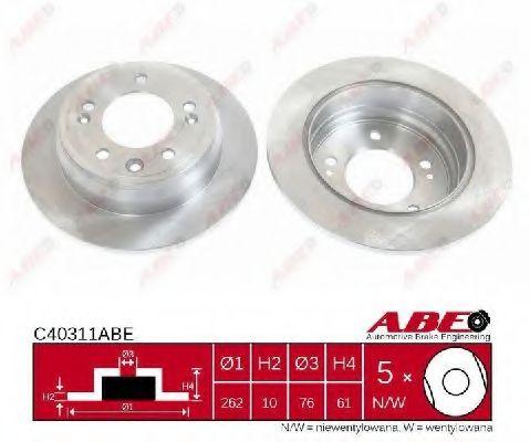 'Тормозной диск ABE C40311ABE