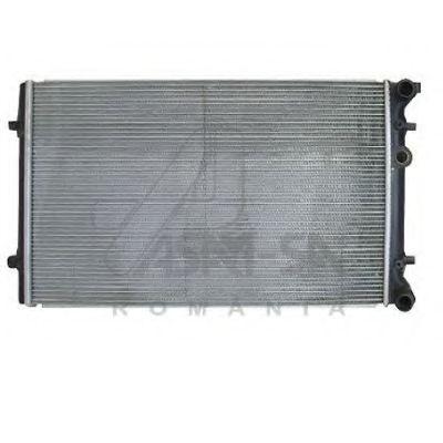 Радіатор системи охолодження ASAM 55178