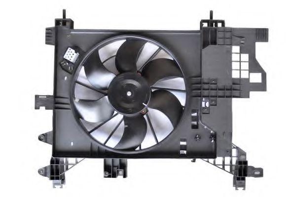 ASAM RENAULT Вентилятор охлаждения Duster 1.5dCi ASAM 32101