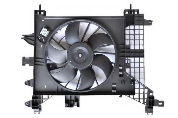 ASAM RENAULT Вентилятор охлаждения Duster 1.5dCi/1.6 16V 4X4 ASAM 32102